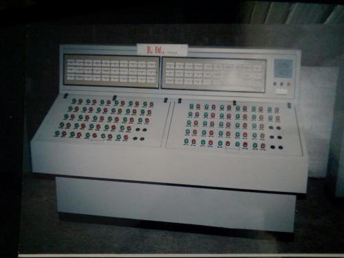 Control Desk Panel With Mimic
